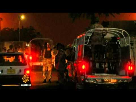 Armed fighters attack Karachi airport