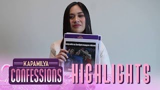 Kapamilya Confessions Highlight: Yen Santos reacts on Halik memes
