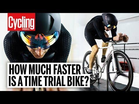 TT Bike vs Road Bike in the Wind Tunnel | Cycling Weekly