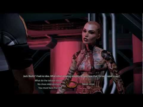 Mass Effect 2 Gameplay - Shepard And Jack Rough Sex Scene 1080p video