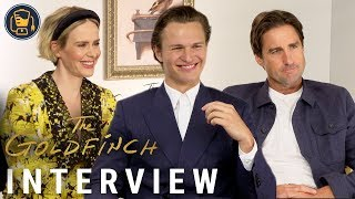 Ansel Elgort, Luke Wilson, Sarah Paulson and More Cast Members on The Goldfinch