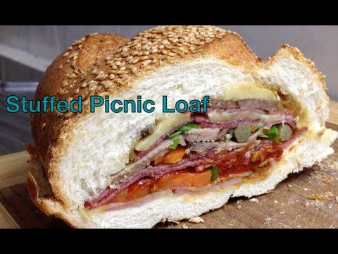 Stuffed Picnic Loaf Video
