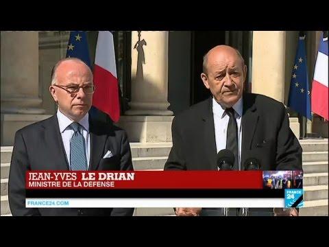 """Attentat de Nice - Jean-Yves Le Drian : """"Nos forces ont frappé le groupe Etat islamique cette nuit"""""""