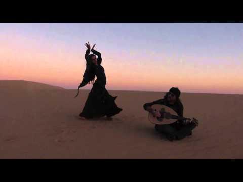 Chantelle Desert Dance Improv @ Siwa, Egypt.