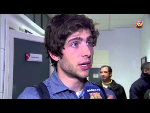 Sergi Roberto's Post Game Reaction To Win At Rayo