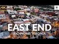 Richmond, Virginia East End | 4K Drone Footage | 2021