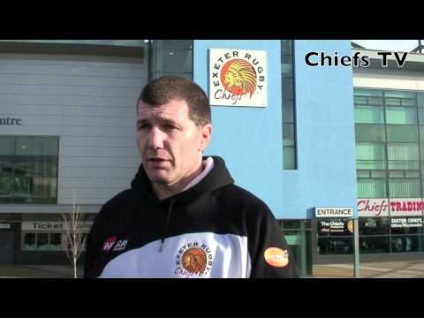 Chiefs coach Baxter previews Falcons LV=Cup clash - Rob Baxter pre-Falcons LV= Cup