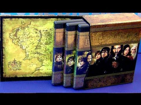 Lord Of The Rings Extended Edition blu-ray Trilogy