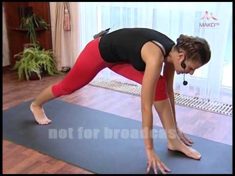 Йога с Кариной Харчинской урок №9