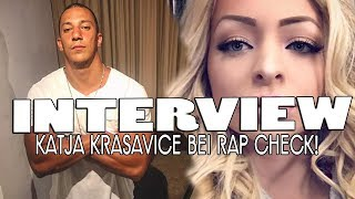 Interview: KATJA KRASAVICE spricht über FARID BANG, CAPITAL BRA & SCHWESTA EWA