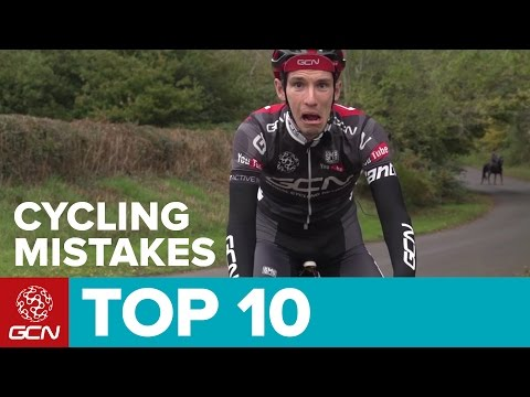 Top 10 Cycling Mistakes And How To Avoid Them