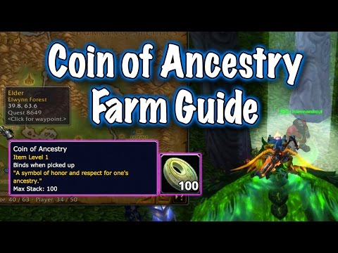 Jessiehealz - Coin of Ancestry Farming Guide, Lunar Festival (World of Warcraft)