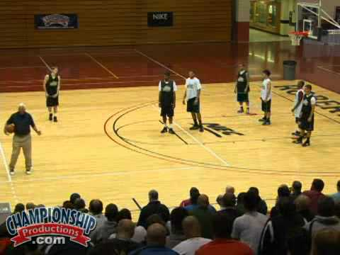 Triangle Drill With Bob Knight