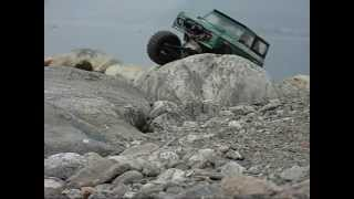rc Ford Bronco crawler Como lake slow