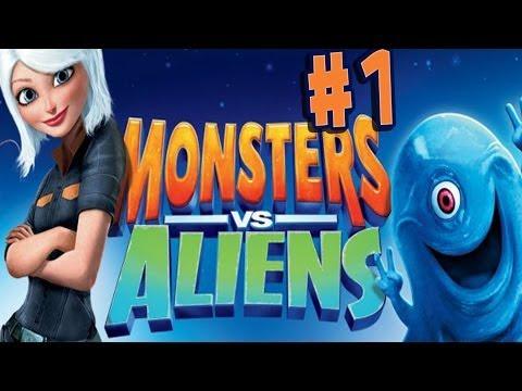 Monsters vs. Aliens - Walkthrough - Part 1 - Jail Break (PC) [HD]