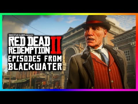 The UNTOLD Story Of What Happened During The Blackwater Massacre In Red Dead Redemption 2! (RDR2)