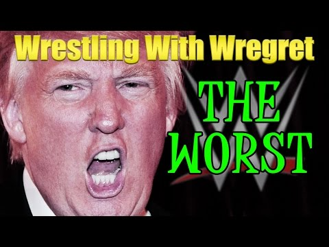 Donald Trump in WWE | Wrestling With Wregret