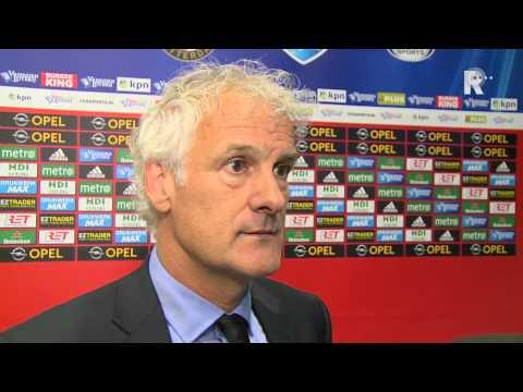 Fred Rutten na afloop van Feyenoord - Willem II