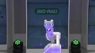 Amazing Digital Magic Show by Bio-Rad Performed during ISBT 2016, in Dubai