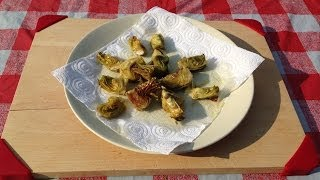Fried Artichoke Recipe
