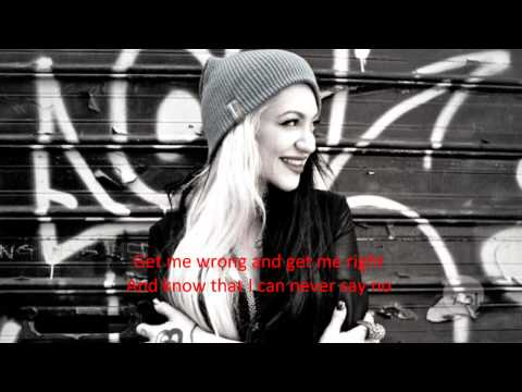 Porcelain Black- Naughty Naughty Lyrics (On Screen) Music Videos