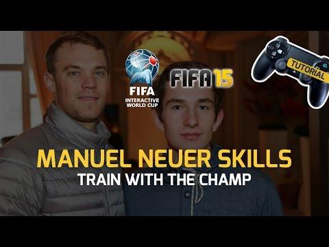 FIFA15 Tutorial: Manuel Neuer skills
