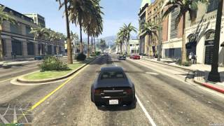Grand Theft Auto V AMD Radeon HD 5670 1GB GDDR5 128Bit Gameplay 1080p
