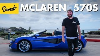Driving the McLaren 570S | The New Car Show