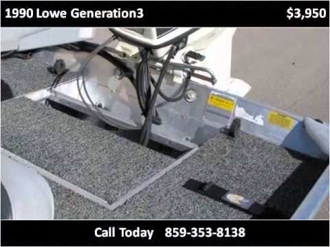 1990 Lowe Generation3 Used Cars Berea KY