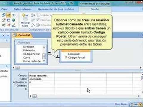 Access 2007, consultas de actualización