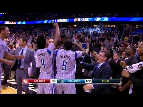 Tobias Harris Game Winning 2 Pointer - Hawks vs. Magic - 12.13.2014 HD
