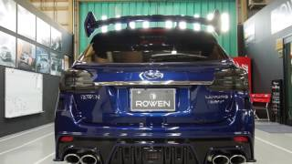 ROWEN LED BRILLIANT LED TAILLAMP for SUBARU LEVORG(VM)