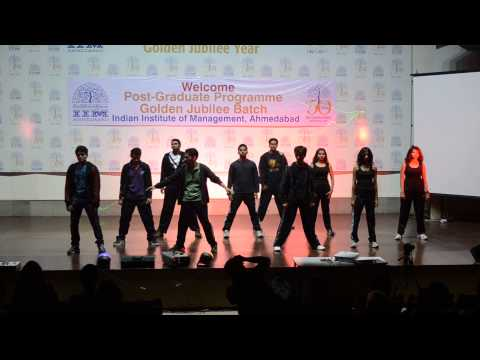 Hip Hop performance - The Big Bang by Footloose IIMA