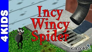 Incy Wincy Itsy Bitsy Spider Nursery Rhymes | Karaoke | JUNIORS TOONS