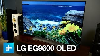 LG OLED 4K UHDTV EG9600 - Hands On Review