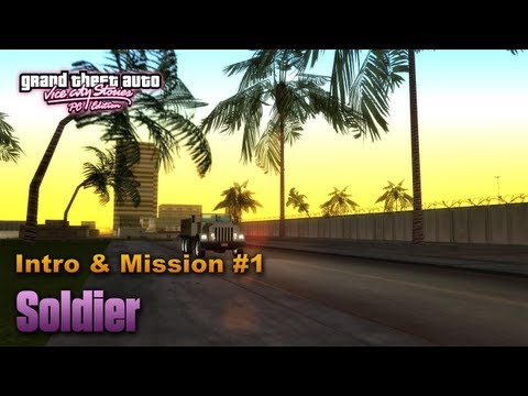 GTA Vice City Stories PC Edition - Intro & Mission #1 - Soldier