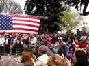 President Bill Clinton in Baker City / Veterans