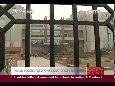 Video Indian Prosecutors Dna Links To Rape Suspects Cctv News video