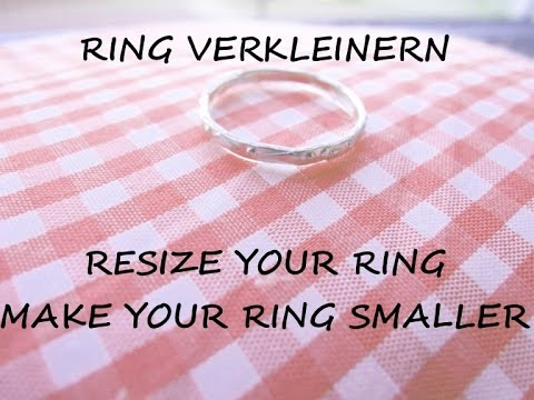 ring is too big how to make it fit