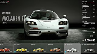 Gran Turismo Sport - All Cars / Full Car List + DLC (February 2018)