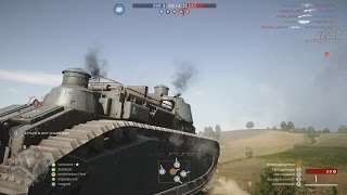 BF1 DLC - NEW TANK BEHEMOTH GAMEPLAY +NEW MAP (Battlefield 1 Soissions Battlefield 1 DLC gameplay)