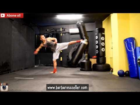 Kick Boks Teknikleri - Barbaros Ozeller Performans