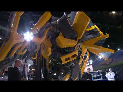 Lifesize Bumblebee Autobot Build