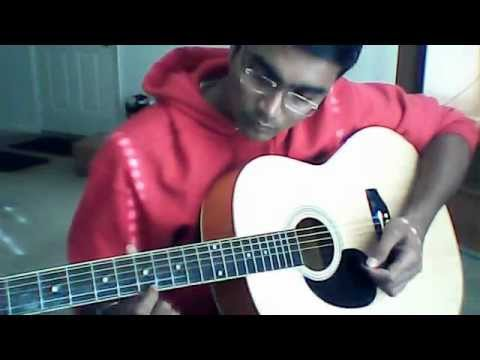 Ni Sa Ri Sa - Tamil Theme song from Jeans- Guitar Beginners...