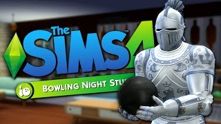 WILD BOWLING BENDER - The Sims 4 Funny Highlights #105
