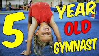 Adorable 5 Year Old Gymnast Kyleigh| Ultimate Gymnastics