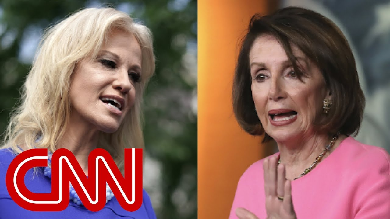 Pelosi and Conway have testy exchange at the White House