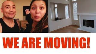 WE ARE MOVING! + SNEAK PEEK OF HOUSE