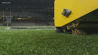 Superdome turf from LSU championship headed to New Orleans high school