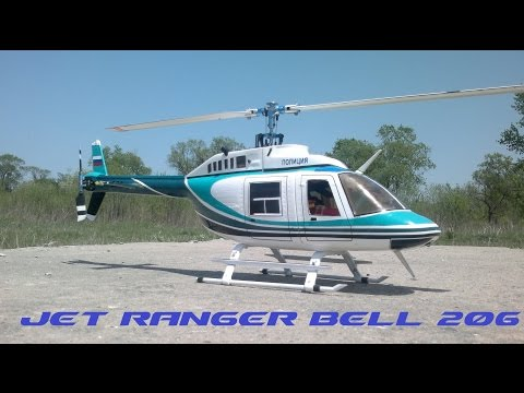 RC Scale Helicopter Jet Ranger Bell 206
